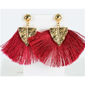 1p Boucles Oreilles Pendantes à clou 8cm New Collection Pompon 2019 76720