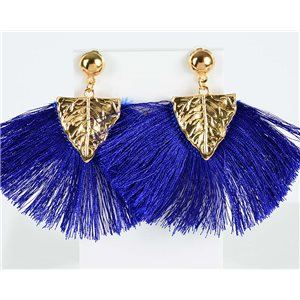 1p Boucles Oreilles Pendantes à clou 8cm New Collection Pompon 2019 76722