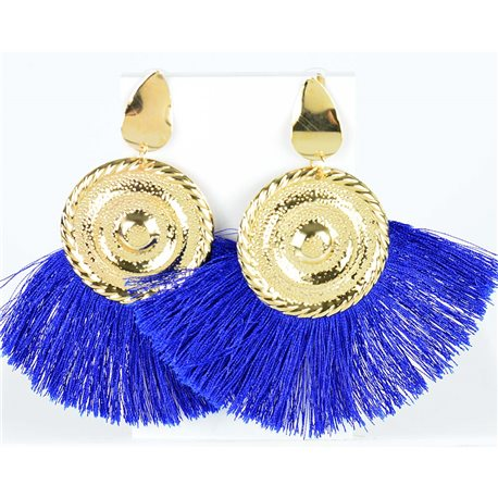 1p Boucles Oreilles Pendantes à clou 10cm New Collection Pompon 2019 76710