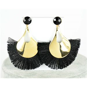 1p Boucles Oreilles Pendantes à clou 8cm New Collection Pompon 2019 76695