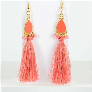 1p Earrings with hook 13cm New Collection Pompon 2019 76726