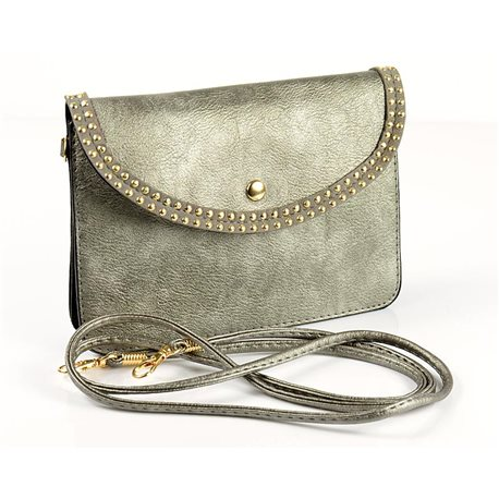 Women's PU Leather Pouch Bag 18 * 13cm New Collection 77031