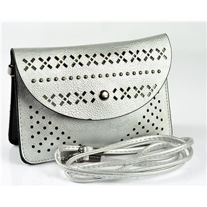 Women's Pouch Bag in PU Leather 19 * 13cm New Collection 77041