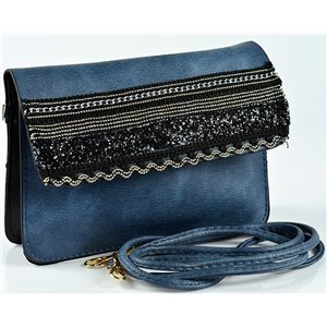 Women's Pouch Bag in PU Leather 19 * 13cm New Collection 77059