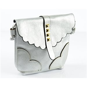 Women's PU Leather Pouch 18 * 18cm New Collection 77027