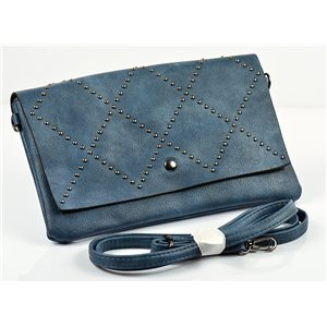 Women's Pouch Bag in PU Leather 27 * 16cm New Collection 77009