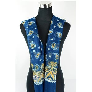 Foulard polyester 180cm-75cm New Collection 77109