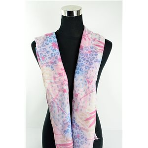Foulard polyester 180cm-75cm New Collection 77128