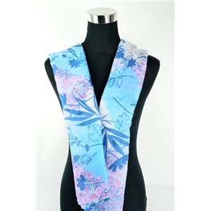 Foulard polyester 180cm-75cm New Collection 77129
