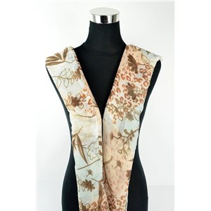 Foulard polyester 180cm-75cm New Collection 77131