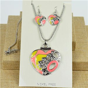 VISAGE ornament Hand painted New Collection 2020 Spring Summer 78028