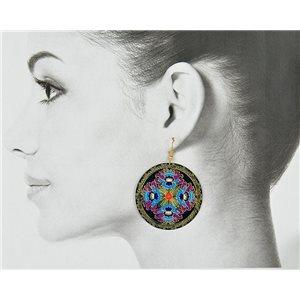 1p Filigree Golden Hook Earrings New Collection 78833