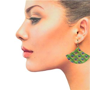 1p Filigree Hook Earrings Silver New Collection 78883