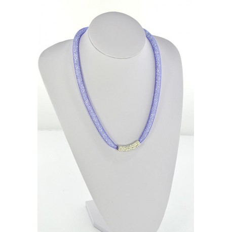 Collier Top Mode Resille Strass L55cm 64494