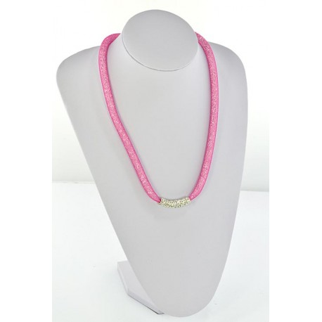 Top Fashion Rhinestone Necklace Resille L55cm 64497