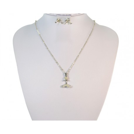Finery Iris Strass on 58798 fancy chain