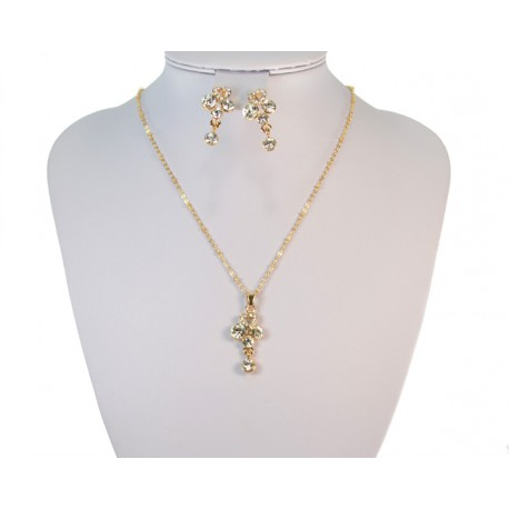 Finery Iris Strass on 58807 fancy chain