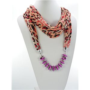 Scarf Necklace Jewelry Polyester Spring Summer Collection 2016 68458