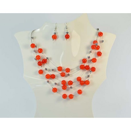 Suspension adornment 5 Rank Beads and Jewelry 59011