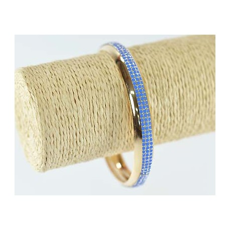 Glitter Bracelet 1 element gold metal 60164