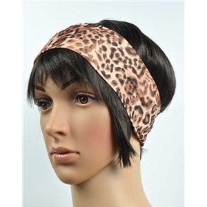 polyester hair band fashion panther width 7cm 70720