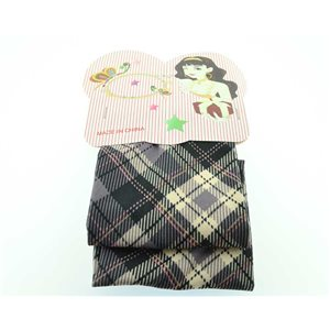 polyester hair band fashion Scottish width 7cm 70700