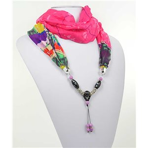 Collier Foulard Bijoux Polyester New Collection 71005